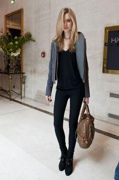 Josephine Skriver, Paris Fashion Week, FW12