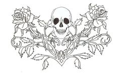 goth colouring pages - Google Search