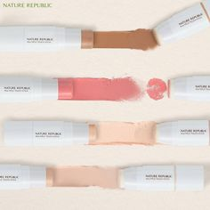 Nature Republic, Hair Makeup, Skincare, Lipstick, Colours, Cosmetics, Face, Instagram Posts, Beauty Products