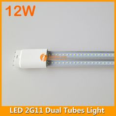 12W LED 4pins 2G11 dual tube light