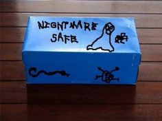 Nightmare safe, tips to help young children cope with anxiety