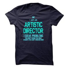 Im A/An ARTISTIC DIRECTOR - #gift for her #gift friend. SATISFACTION GUARANTEED => https://www.sunfrog.com/LifeStyle/Im-AAn-ARTISTIC-DIRECTOR-31695449-Guys.html?68278
