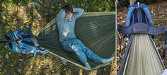 A Hammock In a Backpack Is All You Really Need For Camping