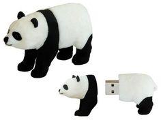 Active Media WWF Panda USB Flash Drive I want one of these does anyone know where I can buy it? Panda Love, Panda Bear, Polar Bear, Usb Drive, Usb Flash Drive, Laptop Accessories, Cool Gadgets, Usb Hub, School Supplies