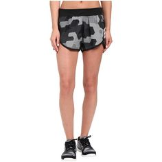 adidas Ultimate Woven Shorts - Sport Camo Print (Black... ($20) ❤ liked on Polyvore featuring activewear, activewear shorts, black, adidas sportswear, logo sportswear, sports activewear, adidas activewear and adidas
