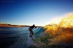 All I want for Christmas is a warm wave in boardies, please.