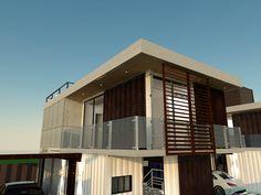 Ecoeficiência: Casas construídas com contêineres
