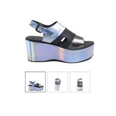 #shoes #miista #miistashoes #style #hologram #holographic #platforms