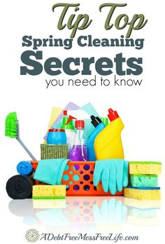 The ultimate spring cleaning guide to get your home sparkling clean using the same methods I use in my professional cleaning company! I share all my tricks and tips to make it fast and easy to get your home ready for spring!
