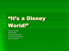 its-a-disney-world-update-32608-elle by terraware via Slideshare