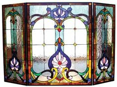 Love stain glass