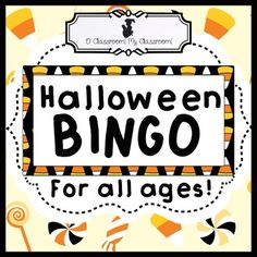 halloween bingo a classic game with a new spin perfect for all ages - Halloween Web Quest