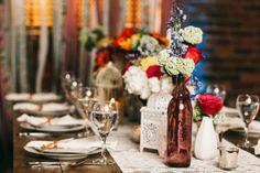 Colorful+Vintage+Boho+Wedding+Inspiration+via+TheELD.com