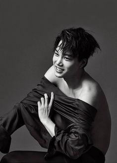 The handsome Kim Jongin for GQ