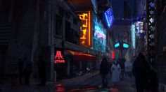 ArtStation - Cyberpunk Sketch, Szabados Zsolt
