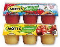 $1.10/2 Mott's Single Serve Applesauce Or Medleys Snack Printable Coupon