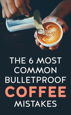 This guide is based on the common mistakes I've noticed when people make Bulletproof Coffee so that you can get as many health benefits out of the drink as possible. Ketogenic Recipes, Ketogenic Diet, Ketosis Diet, Ketogenic Coffee, Renal Diet, Keto Foods, Keto Recipes, Snack Recipes, Dinner Recipes