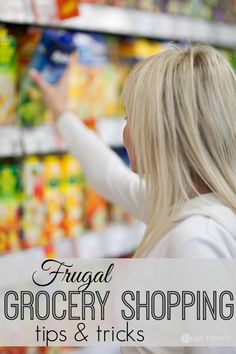 Groceries can be very expensive especially if you have a large family. Here are 10 frugal grocery shopping tips that will help to save you money.