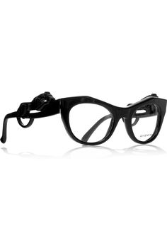 GIVENCHY  Angular cat eye-frame acetate optical glasses  $535