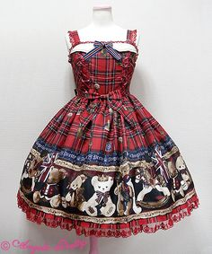 Angelic Pretty | British Bear JSK (2016)