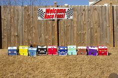 Race car party ideas