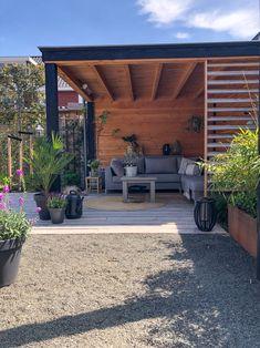 Small Garden Gazebo, Small Backyard Gardens, Backyard Garden Design, Backyard Pavilion, Backyard Seating, Backyard Patio, Greece House, Terrace Design, Outdoor Living