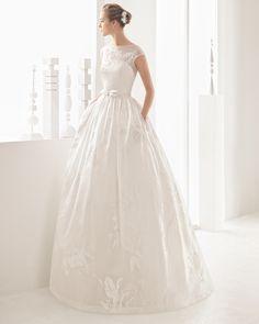 Navia vestido de novia Rosa Clará 2017