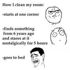 #Cleaning My #Room http://ibeebz.com