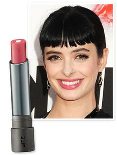To create the star's sheer pout, #KrystenRitter's makeup artist Amy Nadine used a swipe of Bite Beauty's Lush Lip Tint in Watermelon. http://news.instyle.com/2012/06/05/krysten-ritter-fruit-punch-lip-stain/