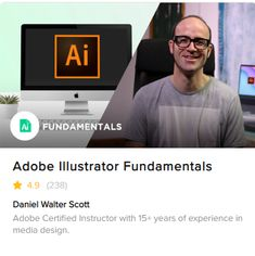Learn with Fiverr how to master Adobe Illustrator fundamental techniques and tools with our Illustrator hands-on course Media Design, 15 Years, Online Courses, Fun Projects, Adobe Illustrator, How Are You Feeling, Design Styles, Learning, Business