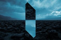Amazing Landscapes Distorted with Geometric Fragments - by Reynald Drouhin