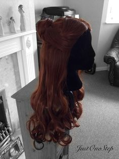 BELLE WIG Beauty And The Beast Wig Princess Wig