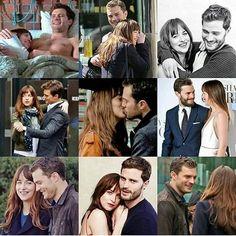 (11) Twitter Fifty Shades Series, Fifty Shades Of Grey, 50 Shades, Christian Grey, Dakota Johnson, Jamie Dornan, Family Photos, Dj, Kiss