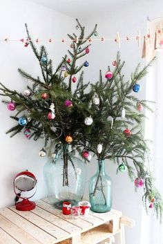 decor ideas for a small space Christmas