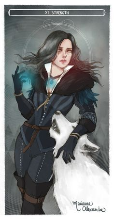 mariannealexandre,Йеннифер,Witcher Персонажи,The Witcher,Ведьмак, Witcher, ,фэндомы