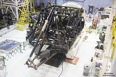 NASA Webb Telescope Construction Leaps Forward with Delivery of Mirror Holding Backbone Flight Structure
