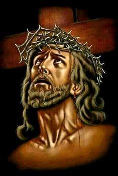 Christ Tattoo, Jesus Tattoo, Jesus Christ Painting, Jesus Drawings, Christ In Me, Pictures Of Jesus Christ, Jesus Wallpaper, Christian Artwork, Rosary Catholic