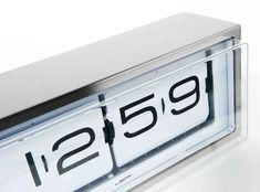 A fabulous stainless steel vintage feel flip clock with white face by LEFF amsterdam. The Brick 24h clock can be placed on your desk or hung on the wall. This classically designed silver brick clock is a must have for any stylish home or office. Wall Desk, Desk Clock, Flip Clock, Cool Clocks, Mantle Clock, Brick Wall, Stainless Steel Case, Interior Architecture, Amsterdam