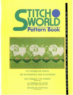 Книга узоров машинного вязания: Stitch World Pattern Book l - Вяжем сети - ТВОРЧЕСТВО РУК - Каталог статей - ЛИНИИ ЖИЗНИ