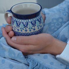 Into the bleu by Bunzlau Castle Polish Folk Art, Polish Pottery, Tea Time, Castle, Hand Painted, Dishes, Tableware, Plaid, Instagram