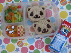Bento for Kidlet: Cute Panda Lunch #EasyLunchBoxes