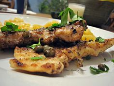slow down and savor - a food blog: My Meyer Lemon adventure continues with Chicken Piccata Tenders