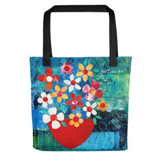 Red Bowl Tote bag | Gill Tomlinson Art