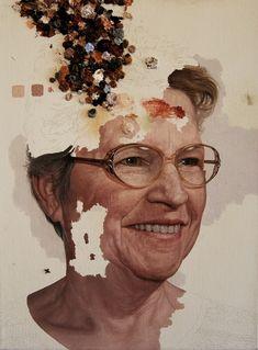 NY artist Colin Chillag | Preferably elderly series. Estoy enamorada
