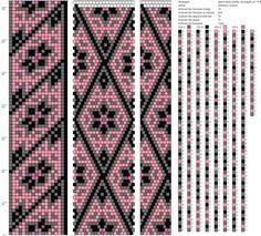Такой любимый бисер — Схемы жгутов на зимнюю тему | OK.RU Crochet Bracelet Pattern, Crochet Beaded Bracelets, Bead Crochet Patterns, Beading Patterns Free, Bead Crochet Rope, Seed Bead Patterns, Beaded Crochet, Beadwork Designs, Tapestry Crochet