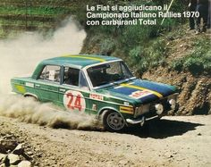 Fiat 125 - page 5 Rally Raid, Fiat Cars, Old Cars, Cars And Motorcycles, Vintage Cars, Automobile, Competition, Monster Trucks, Racing