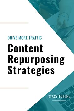 "| Drive More Traffic: Content Repurposing Strategies | Is your content sporadic and without purpose? You guys, I am so excited to dive into this three-part series! Are you ready to ""Drive More Traffic""? I'm going to show you how to repurpose your social media content to be intentional and strategic. Pin now and check this out! #stacytuschl #socialmedia #onlinebusiness Business Tips, Online Business, Business Women, Social Media Content, Social Media Marketing, Make Money Online, How To Make Money, How To Get, Repurposed"