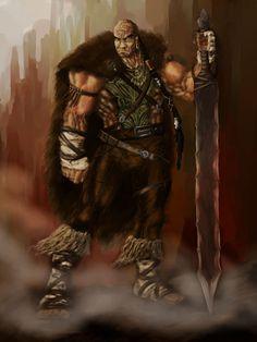 Orlong and sword by ~slaine69 on deviantART