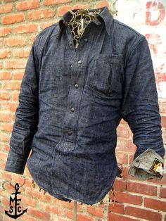 17df477d Sugar Cane Japan · Denim shirt Jean Shirts, Denim Shirts, Denim Jeans,  Casual Shirts, Cool Shirts