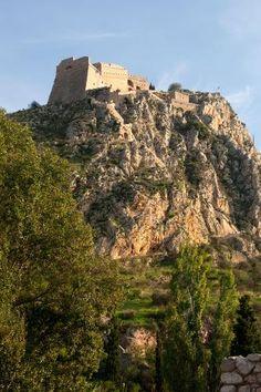 Palamidi fortress, Nafplion, Peloponnese, Greece.